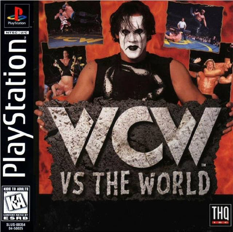 WCW vs The World - PlayStation