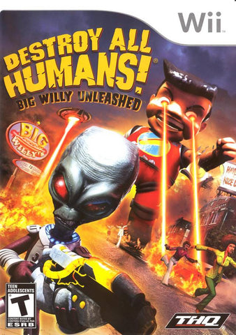 Destroy All Humans! Big Willy Unleashed - Nintendo Wii [NEW]