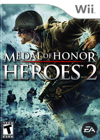 Medal of Honor Heroes 2 - Nintendo Wii [USED]
