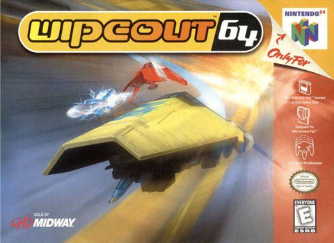 Wipeout 64 - Nintendo 64 [USED]