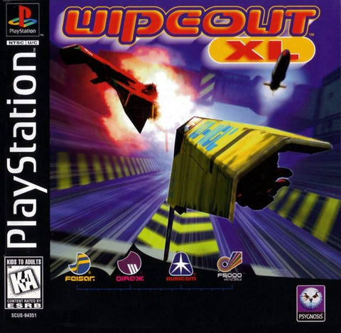 Wipeout XL - PlayStation