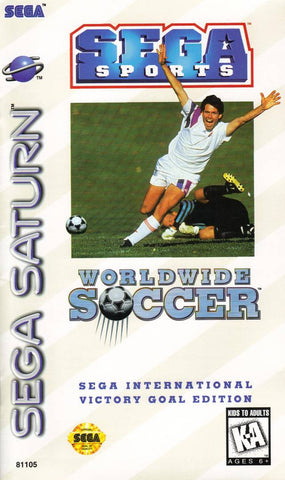 Worldwide Soccer: Sega International Victory Goal Edition - SEGA Saturn [NEW]