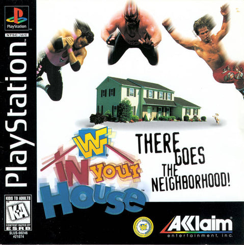 WWF In Your House - PlayStation