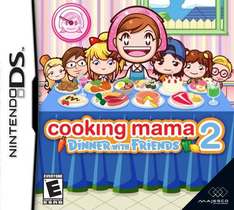 Cooking Mama 2: Dinner With Friends - Nintendo DS