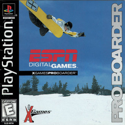 ESPN X-Games Pro Boarder - PlayStation