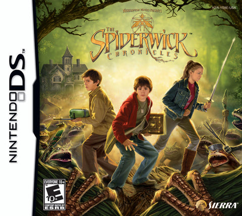 The Spiderwick Chronicles - Nintendo DS
