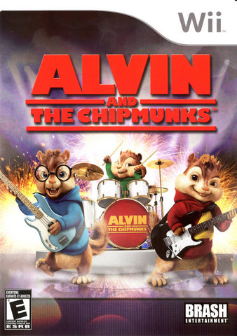 Alvin and the Chipmunks - Nintendo Wii [NEW]