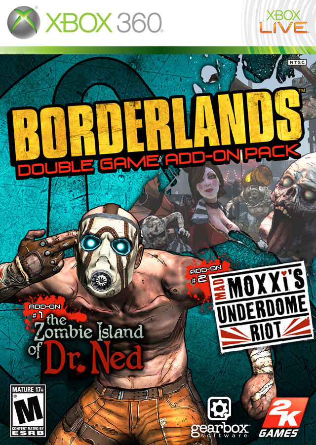 Borderlands: Double Game Add-On Pack - Xbox 360