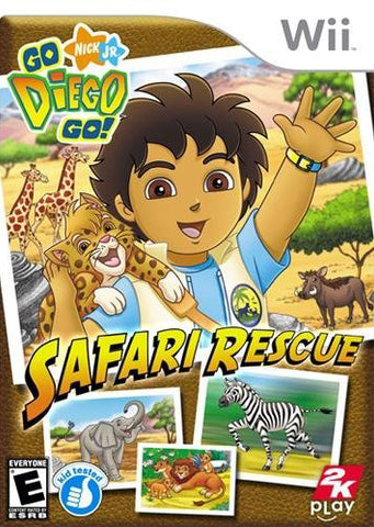 Go, Diego, Go!: Safari Rescue - Nintendo Wii [USED]