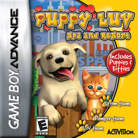 Puppy Luv: Spa and Resort - Game Boy Advance [USED]