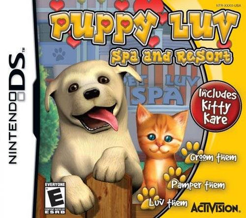 Puppy Luv: Spa and Resort - Nintendo DS