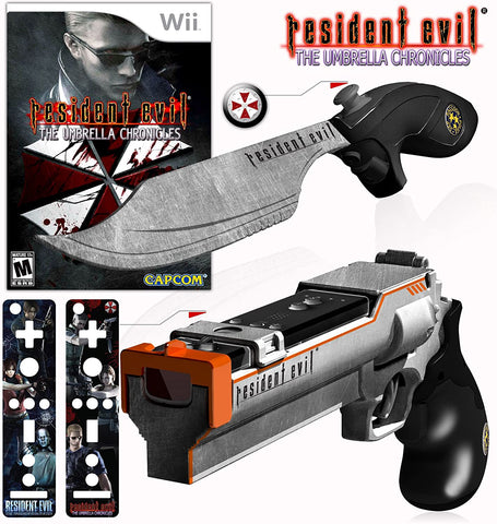 Resident Evil: The Umbrella Chronicles (Magnum Bundle) - Nintendo Wii