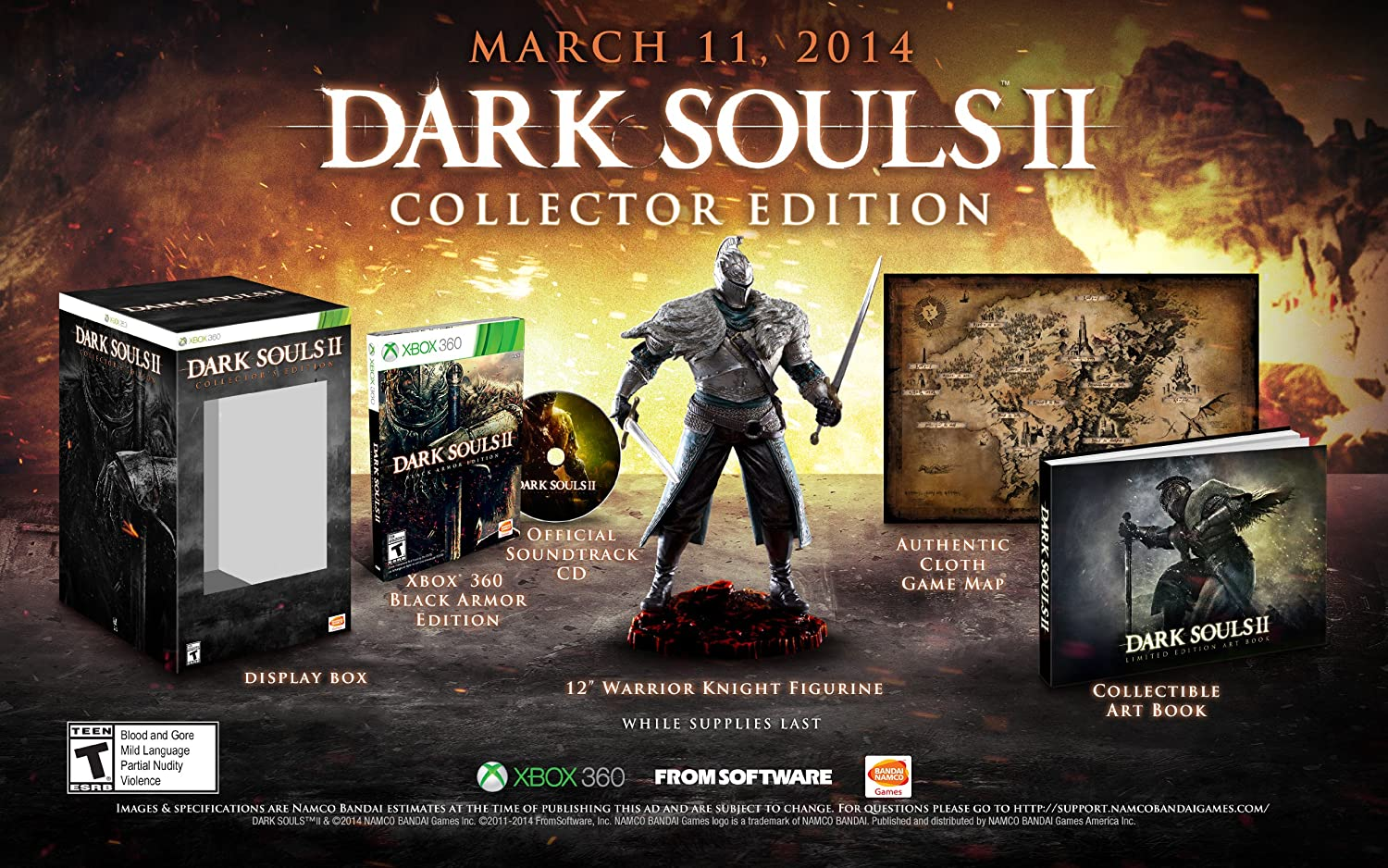 Dark Souls II (Collector's Edition) - Xbox 360
