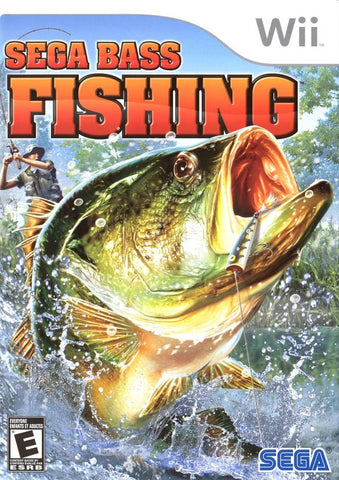 Sega Bass Fishing - Nintendo Wii [NEW]