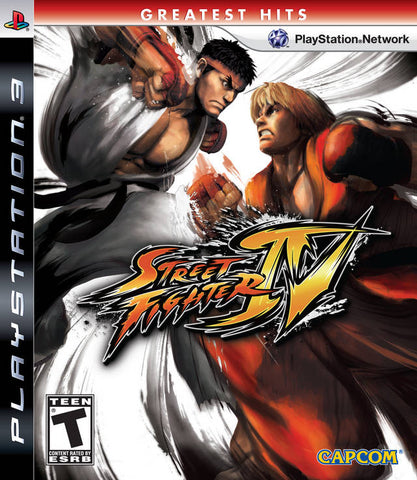 Street Fighter IV (Greatest Hits) - PlayStation 3