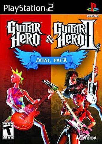 Guitar Hero & Guitar Hero II Dual Pack - PlayStation 2