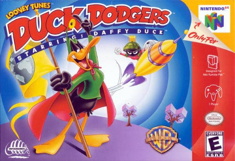 Duck Dodgers Starring Daffy Duck - Nintendo 64 [USED]