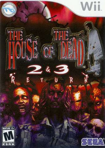 The House of the Dead 2 & 3 Return - Nintendo Wii [USED]