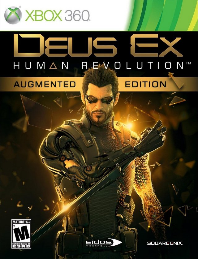Deus Ex: Human Revolution (Augmented Edition) - Xbox 360