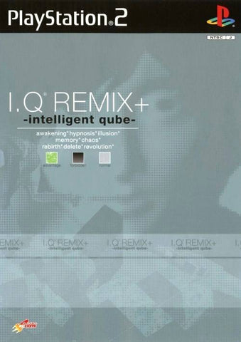 I.Q. Remix+: Intelligent Qube - PlayStation 2 (Japan)