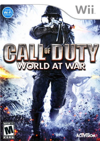 Call of Duty: World at War - Nintendo Wii [USED]