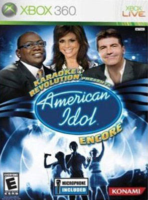 Karaoke Revolution Presents: American Idol Encore (Bundle) - Xbox 360