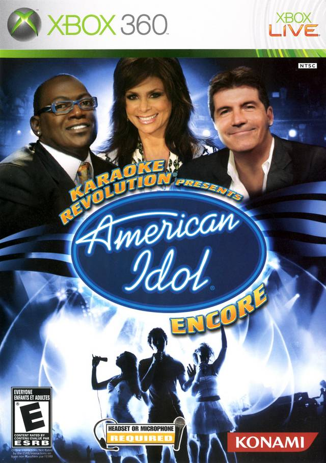 Karaoke Revolution Presents: American Idol Encore - Xbox 360