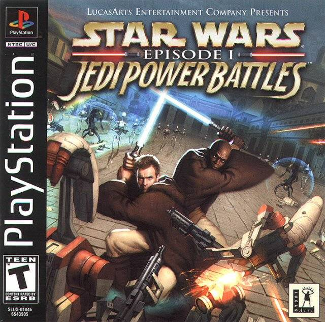 Star Wars Episode I: Jedi Power Battles - PlayStation