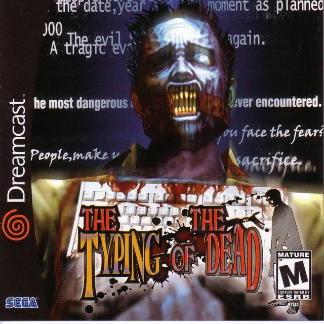 The Typing of the Dead - SEGA Dreamcast [NEW]