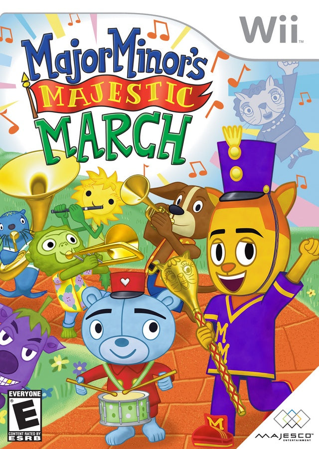Major Minor's Majestic March - Nintendo Wii [NEW]