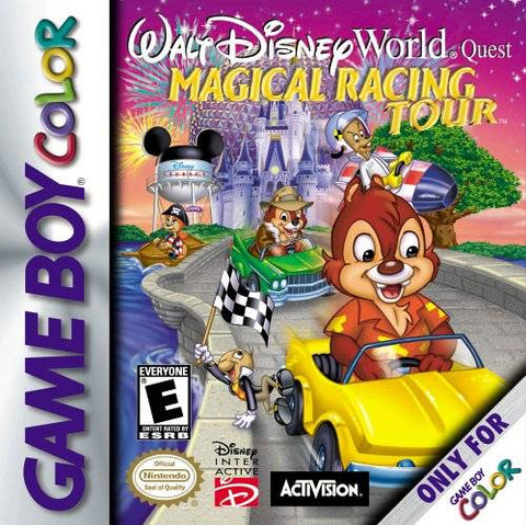 Walt Disney World Quest: Magical Racing Tour - Game Boy Color [USED]