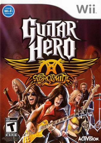 Guitar Hero: Aerosmith - Nintendo Wii [NEW]