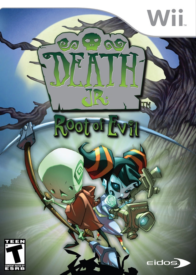 Death Jr.: Root of Evil - Nintendo Wii [NEW]