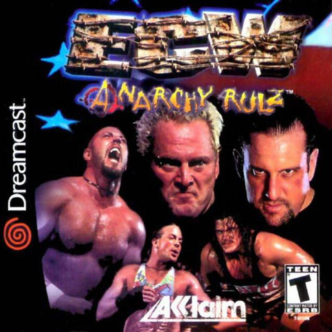 ECW Anarchy Rulz - SEGA Dreamcast [NEW]