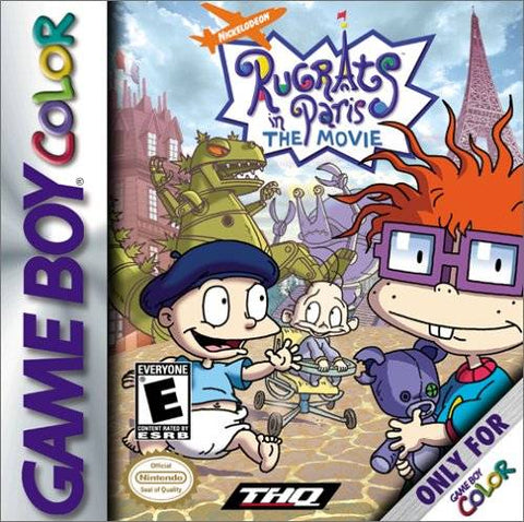 Rugrats in Paris: The Movie - Game Boy Color [USED]