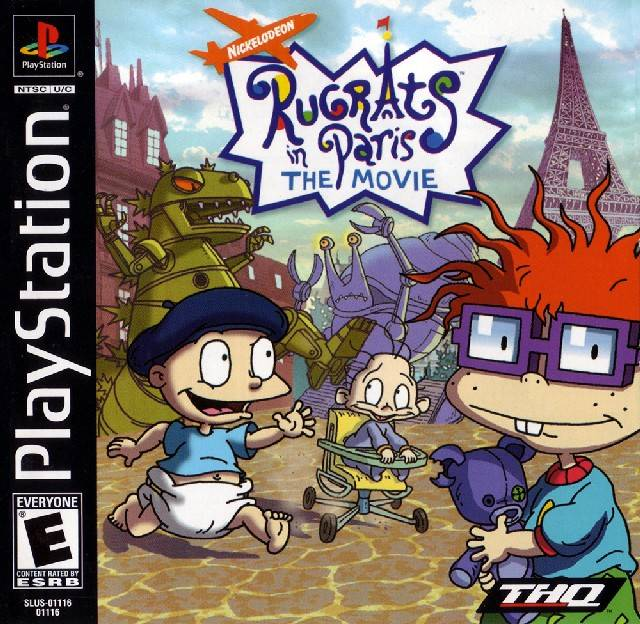 Rugrats in Paris: The Movie - PlayStation