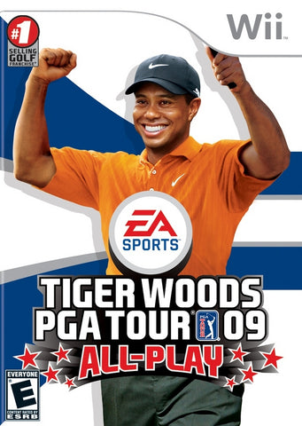 Tiger Woods PGA Tour 09 All-Play - Nintendo Wii [USED]
