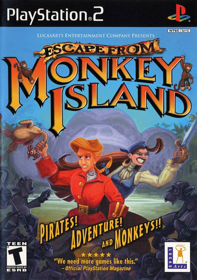 Escape from Monkey Island - PlayStation 2