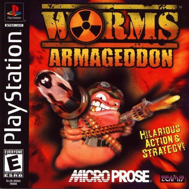 Worms Armageddon - PlayStation