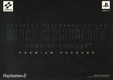 Metal Gear Solid 2: Sons of Liberty (Premium Package) - PlayStation 2 (Japan)