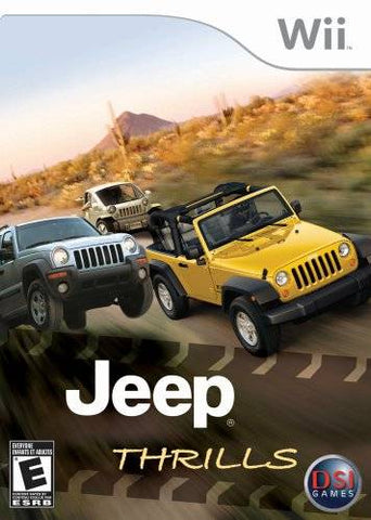 Jeep Thrills - Nintendo Wii [NEW]