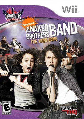 Rock University Presents: The Naked Brothers Band The Video Game - Nintendo Wii [USED]