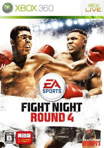Fight Night Round 4 (Eigoban) - Xbox 360 (Japan)