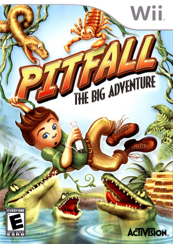 Pitfall: The Big Adventure - Nintendo Wii [USED]