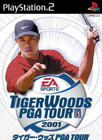 Tiger Woods PGA Tour 2001 - PlayStation 2 (Japan)