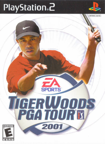 Tiger Woods PGA Tour 2001 - PlayStation 2