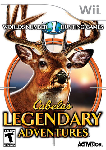 Cabela's Legendary Adventures - Nintendo Wii [USED]