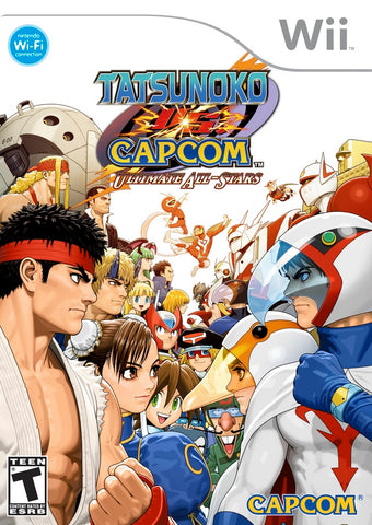Tatsunoko vs. Capcom: Ultimate All-Stars - Nintendo Wii [USED]