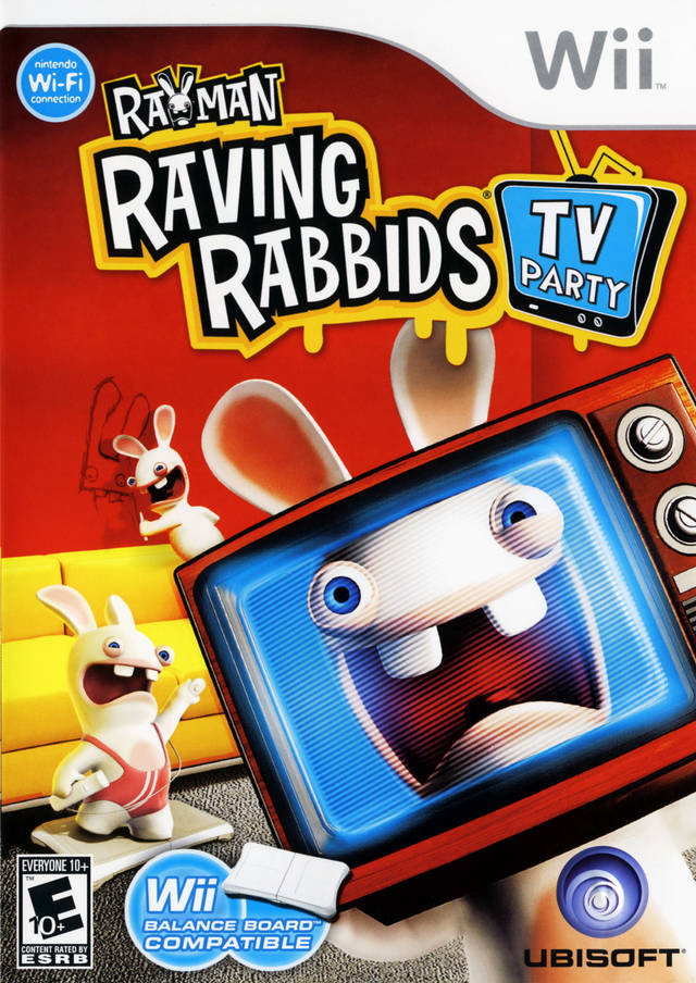 Rayman Raving Rabbids: TV Party - Nintendo Wii [USED]