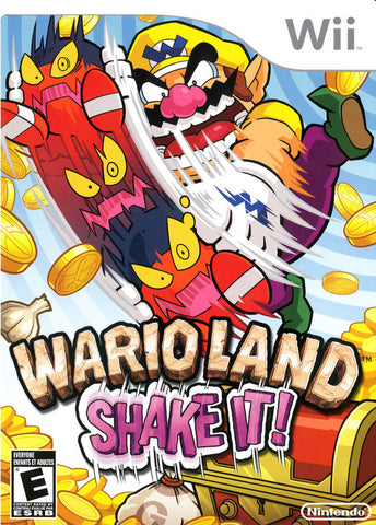 Wario Land: Shake It! - Nintendo Wii [USED]